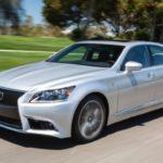 Prototyp nowego Lexusa LS w Death Valley