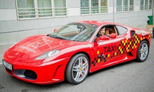 Ostatni kurs taksówki Ferrari