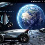 Lexus pokazuje, jak może wyglądać życie na Księżycu
