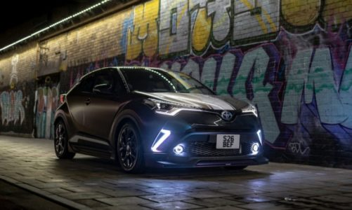 Hybrydowa Toyota C-HR z pakietem TRD – eksperyment brytyjskiej tunerki